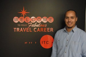 Shane Te Waa, ITC New Travel and Tourism Tutor.
