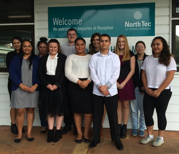 Class of 2016: The first students to benefit from the ITC-Northtec partnership.