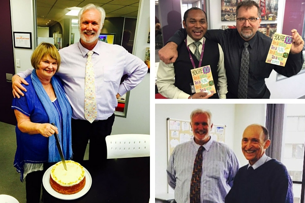 Four ITC tutors celebrate 10 year anniversary
