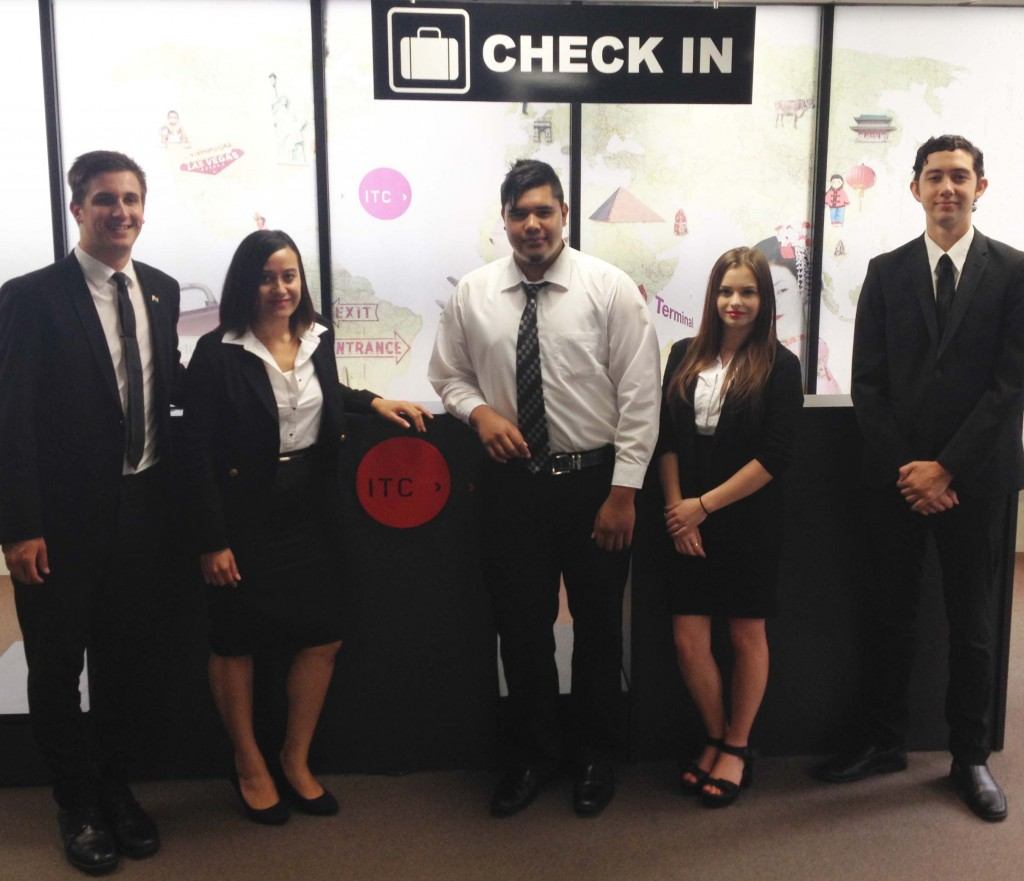 ITC students look smart and ready for the workforce since the college introduced a corporate black and white dress code