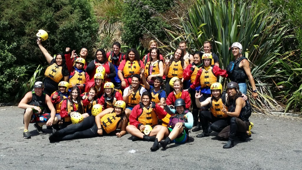 ITC organises field trips for its students so they can experience first-hand what it's like to be a tourist in New Zealand