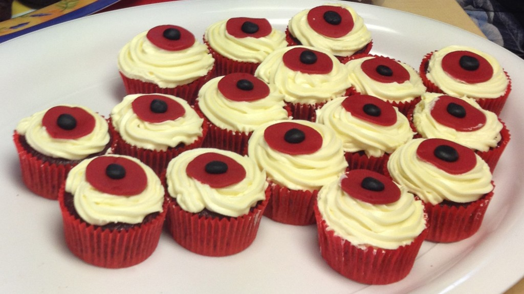 These red velvet poppy cupcakes were as delicious as they looked!
