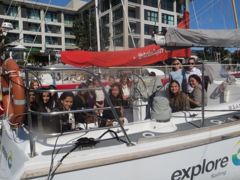 Explore New Zealand offered a recent group of ITC short course students the opportunity to do some work experience
