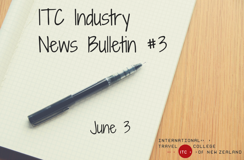In this week's industry news round-up we share stories about Wellington Airport, Air New Zealand and more