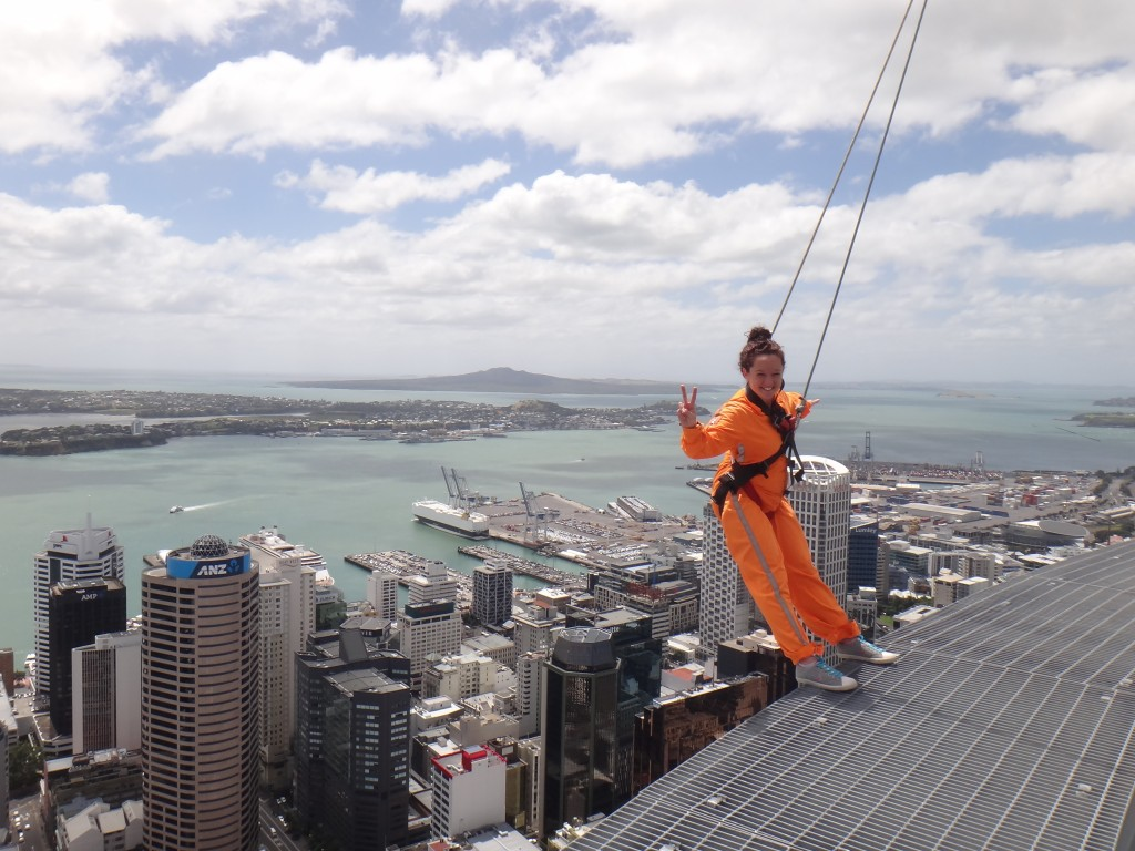 One awesome part of Mel's job is that she gets to do things like the SkyWalk!