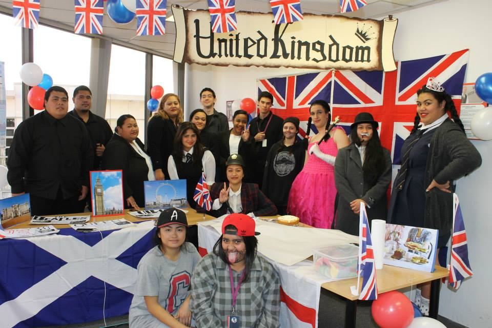 Team UK, featuring ITC's very own princess!