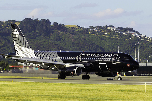 Air New Zealand plane - Flickr
