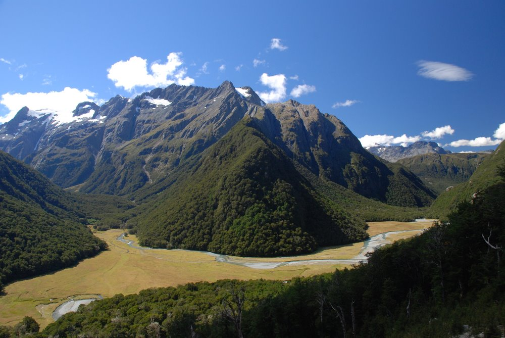 View from Routeburn Track