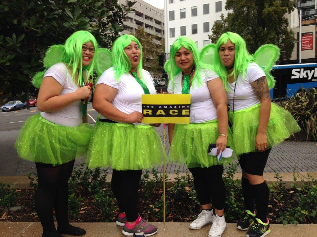 ITC Amazing Race Green Fairies