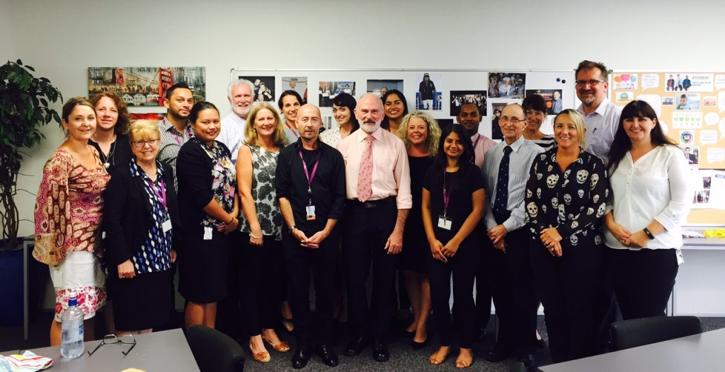 The 'ITC Family' wish Steve all the best for his retirement.