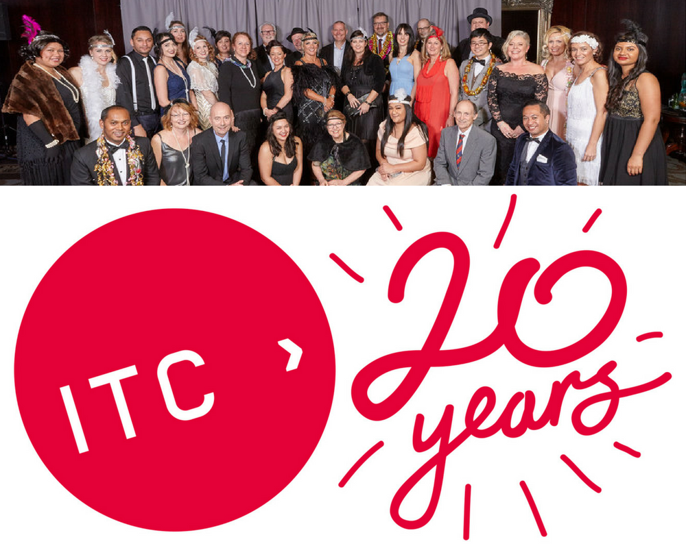 This year, ITC is celebrating its 20th birthday, marking two decades since it opened its doors to students in 1996.