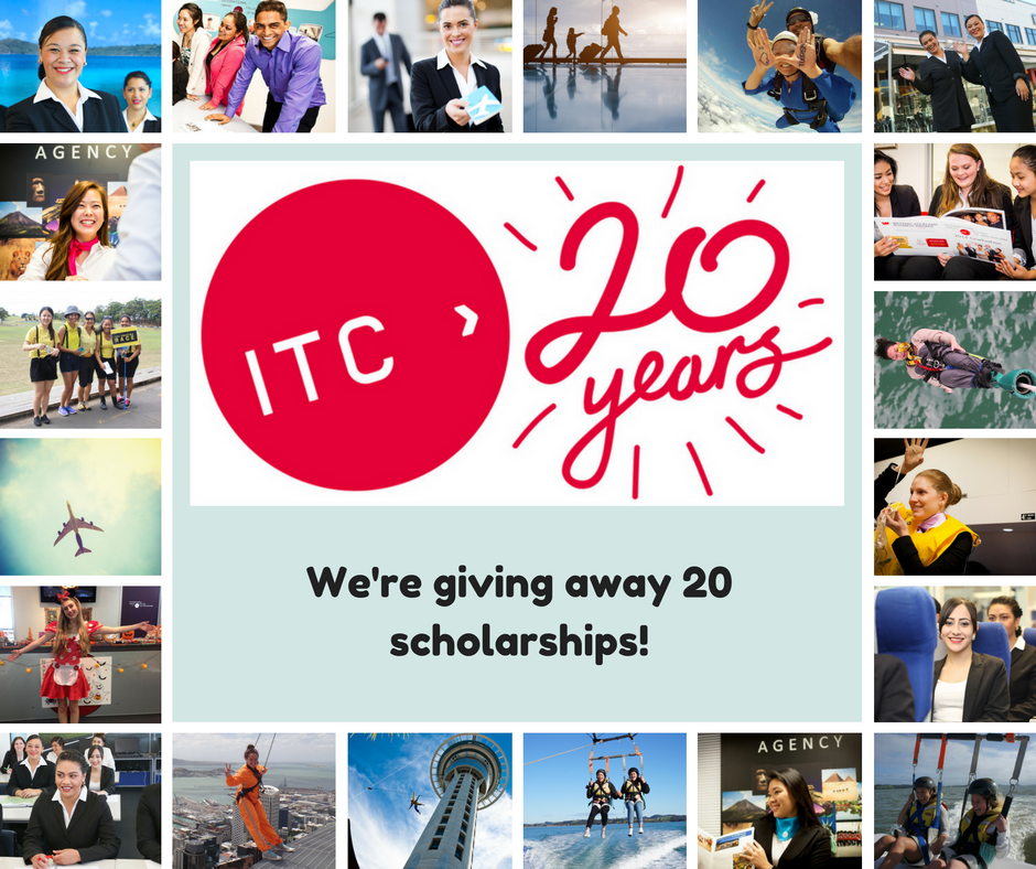We are giving away 20 scholarships to study at ITC in 2017 - applications open now!